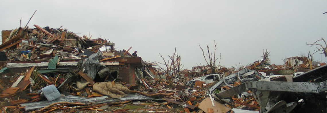 Photo: Tornado Damage